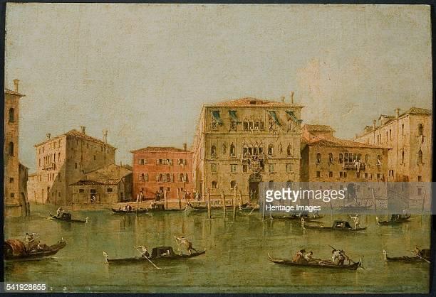View of the Palazzo Loredan dell'Ambasciatore on the Grand Canal Venice' 177585 Artist Francesco Guardi