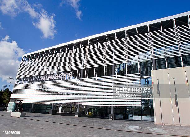 View of the PalmaArena sports venue taken on November 9 2011 in Palma de Mallorca A Spanish court is investigating a company presided from 2004 to...