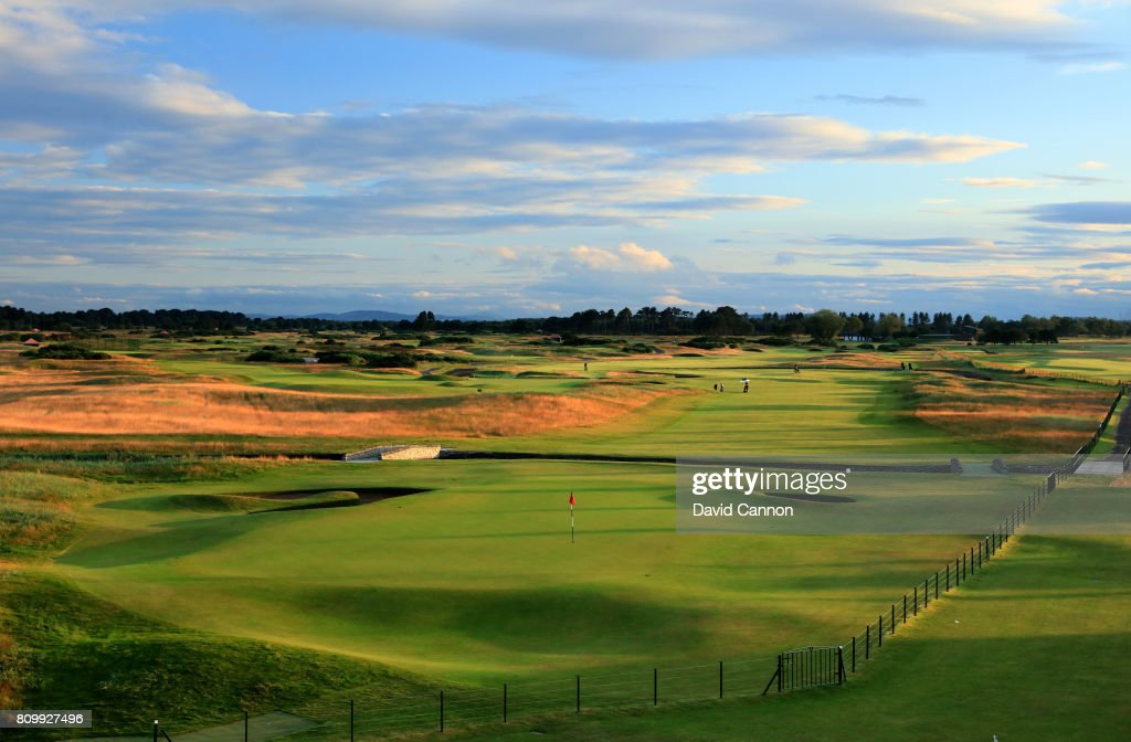 General Views of the Championship Course at Carnoustie Golf Links : ニュース写真