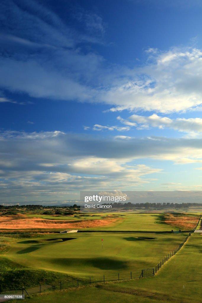 General Views of the Championship Course at Carnoustie Golf Links : Fotografía de noticias