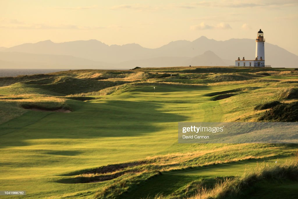 General Views of Trump Turnberry Golf Courses : News Photo