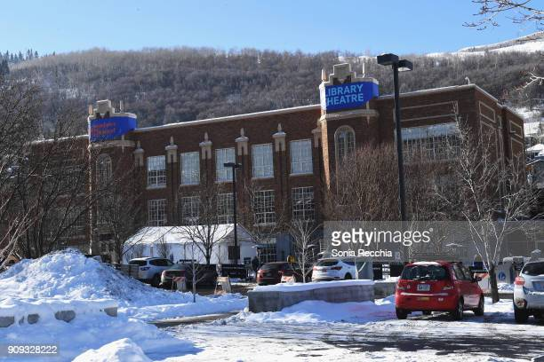 A view of the Park City Libraby before the 'Foxtrot' Premiere during the 2018 Sundance Film Festival at Park City Library on January 23 2018 in Park...