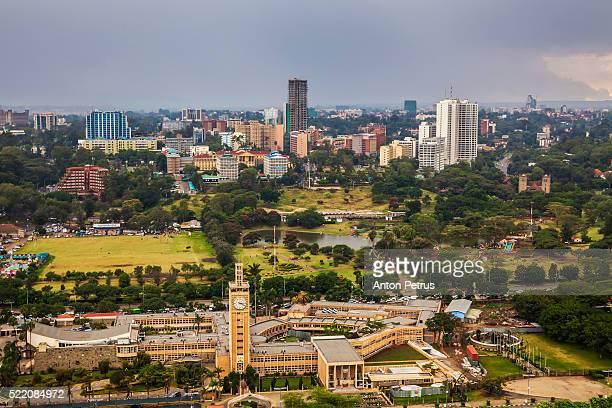 View of the Parliament of Nairobi, Kenya