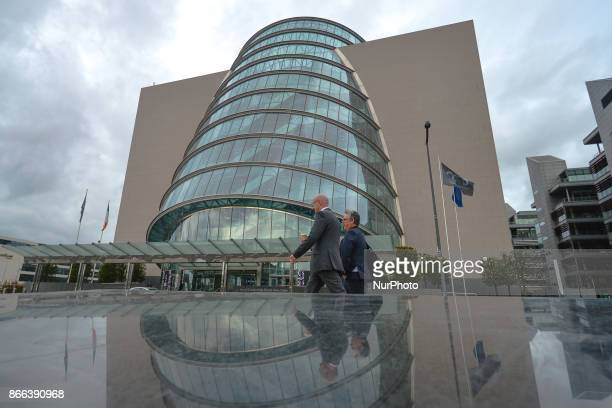 A view of the part of the Central Bank new HQ in Dublins Docklands On Wednesday 25 October 2017 in Dublin Ireland