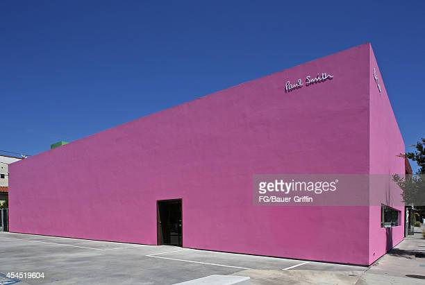 A view of the Paul Smith store in Hollywood on September 02 2014 in Los Angeles California