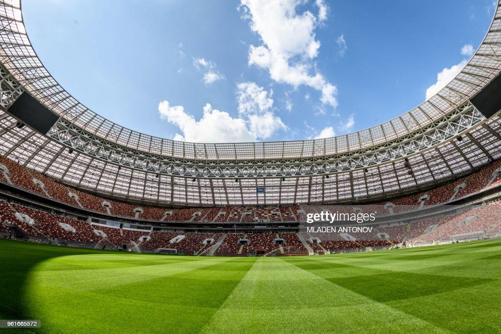 FBL-WC-2018-RUS-STADIUM : Nachrichtenfoto