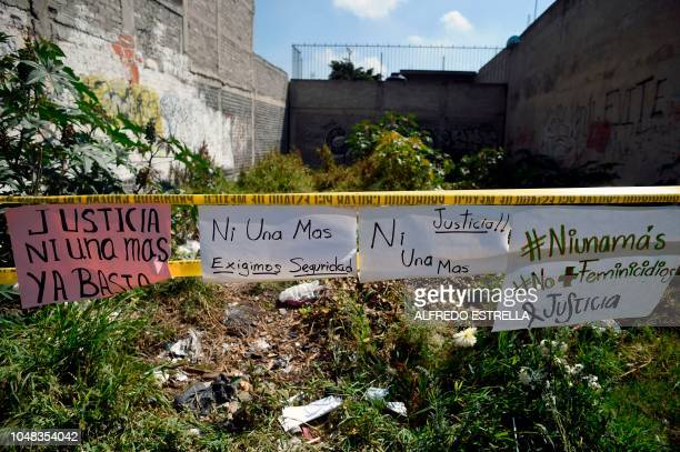 View of the place where the bodies of some women allegedly killed by the couple of Juan Carlos and Patricia were found in the neighborhood of...