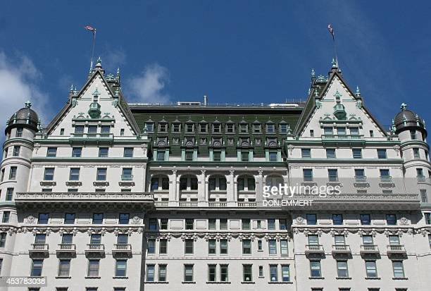 A view of the Plaza Hotel in Midtown Manhattan August 18 2014 in New York There have been rumors that the Sultan of Brunei has offered to buy the...