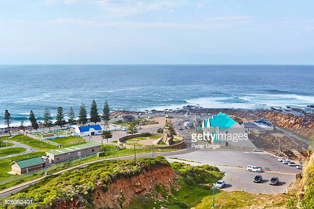 view of the point at mossel bay - mossel bay stock pictures, royalty-free photos & images