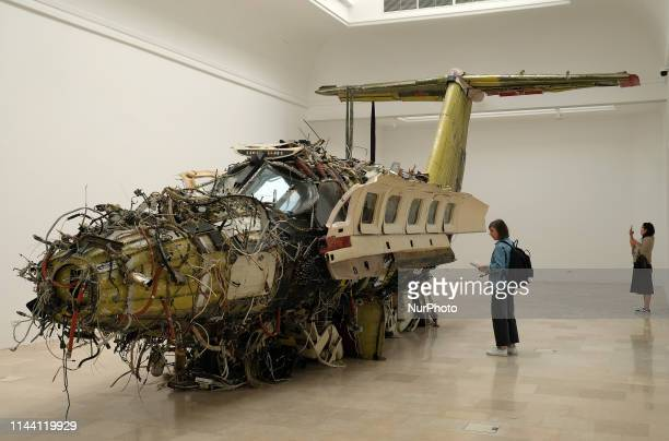 A view of the Polish pavilion represented by the artist Roman Stanczak visible at Giardini during the 58th International Art Biennale on May 16 2019...