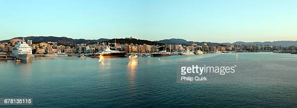 View of the port of Palma Majorca Spain