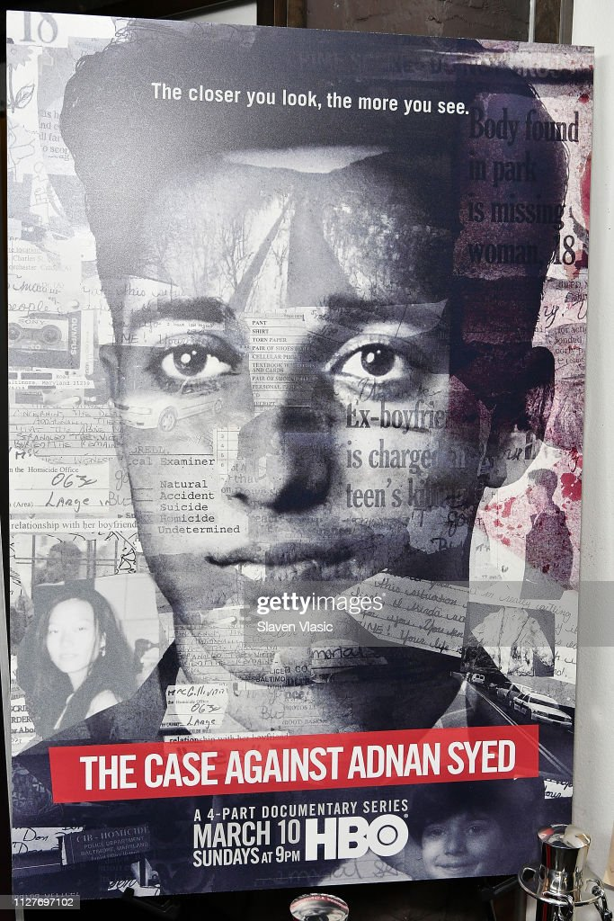 "NY Premiere Of HBO's ""The Case Against Adnan Syed"" At PURE NON FICTION : Fotografia de notícias"