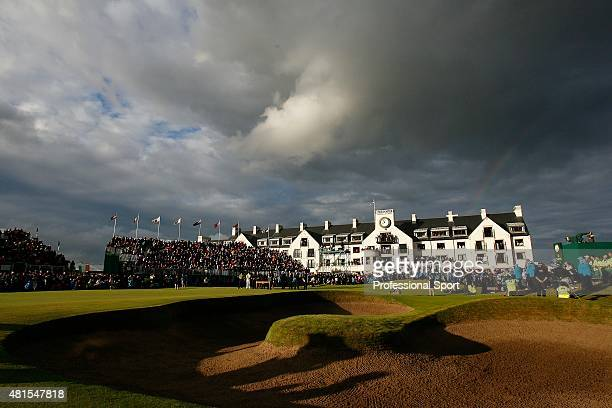 A view of the presentation after the completion of the 136th British Open Championship at the Carnoustie Golf Club on July 22 2007 in Carnoustie...