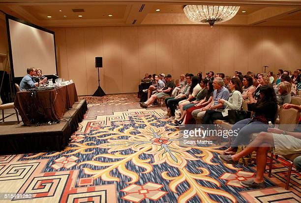 A view of the 'Pro Athletes Taking Control of Their Brand Destiny' panel during the 2016 SXSW Music Film Interactive Festival at Four Seasons Hotel...