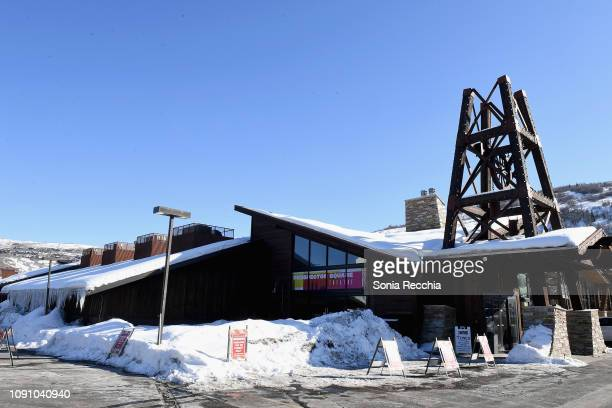 A view of the Prospector Square Theatre during the Indie Episodic Program 1 during the 2019 Sundance Film Festival at Prospector Square Theatre on...