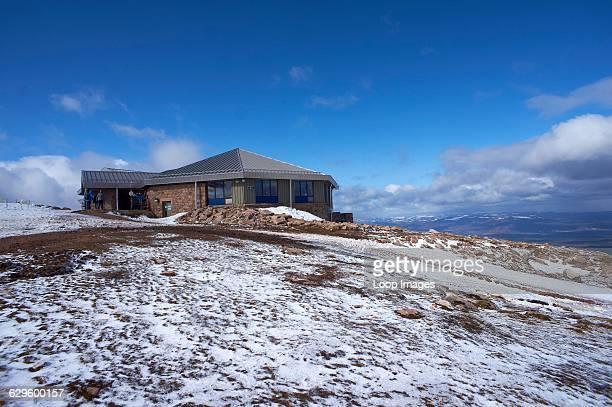 A view of the Ptarmigan restaurant on the Cairngorm mountain Cairngorm Scotland