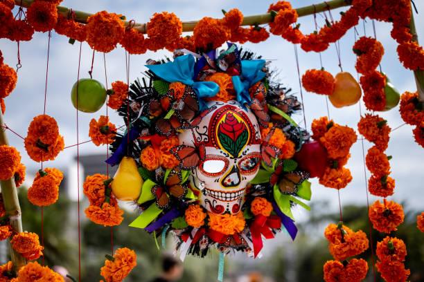 CA: Grand Park's Downtown Dia De Los Muertos