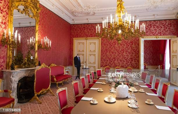 View of the Putti Room Antechamber in Noordeinde Palace, ahead of the Summer opening, in The Hague, on July 26, 2019. / Netherlands OUT