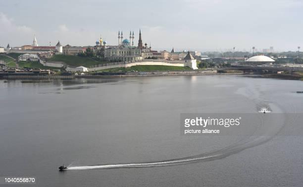 View of the Qol Sharif Mosque in Kazan Russia 11 July 2015 PhotoMarcus Brandt/dpa | usage worldwide