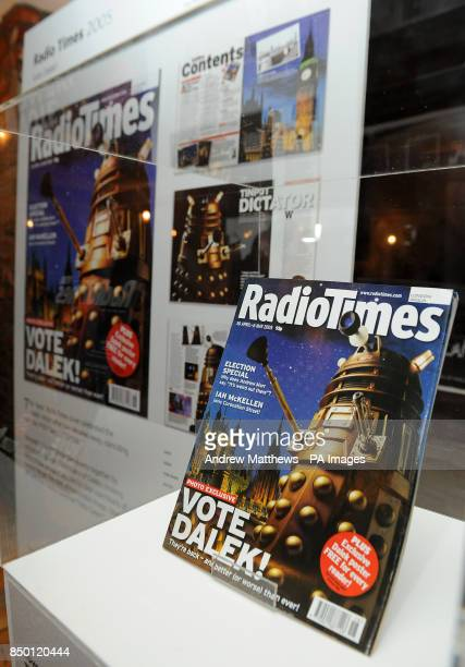 A view of the Radio Times front cover which is shortlisted int he PPA's Cover of the Century competion at the Professional Publishers Association...