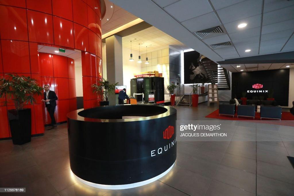 FRANCE-TECHNOLOGY-PA8-EQUINIX : News Photo
