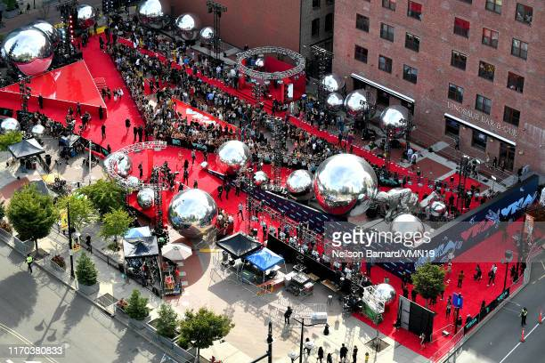 View of the red carpet during the 2019 MTV Video Music Awards at Prudential Center on August 26, 2019 in Newark, New Jersey.