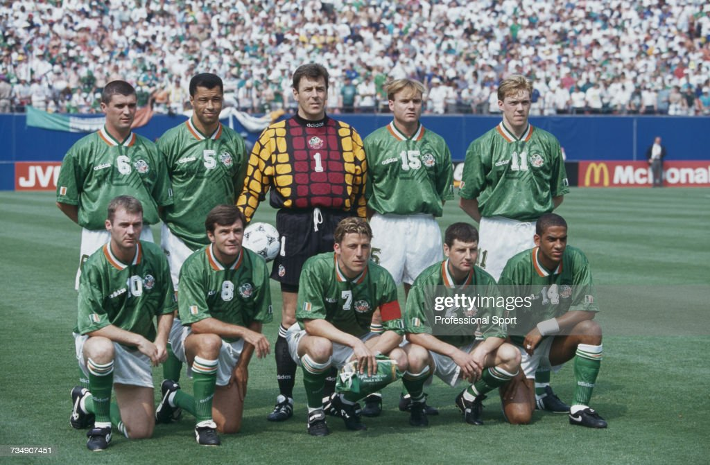 Republic Of Ireland At 1994 FIFA World Cup : News Photo