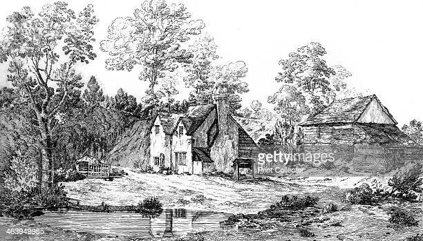 View of the residence of Elwood friend of John Milton at Chalfont St Giles Buckinghamshire 1840 Thomas Elwood an early Quaker was secretary to the...