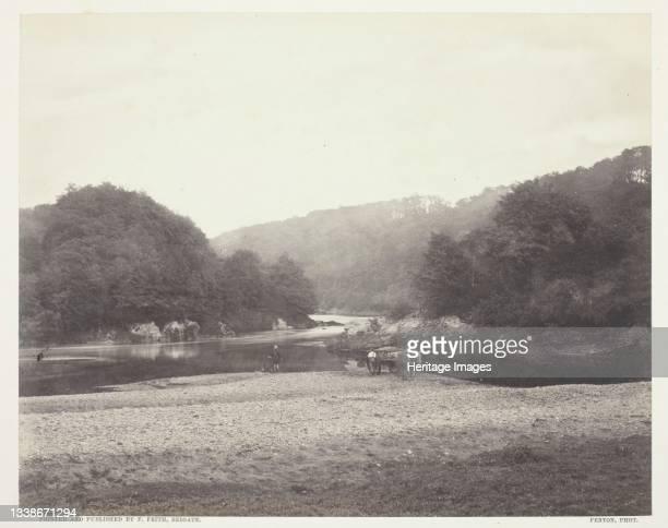 View of the Ribble, Yorkshire, circa 1860, printed circa 1870. A work made of albumen print. Artist Roger Fenton.