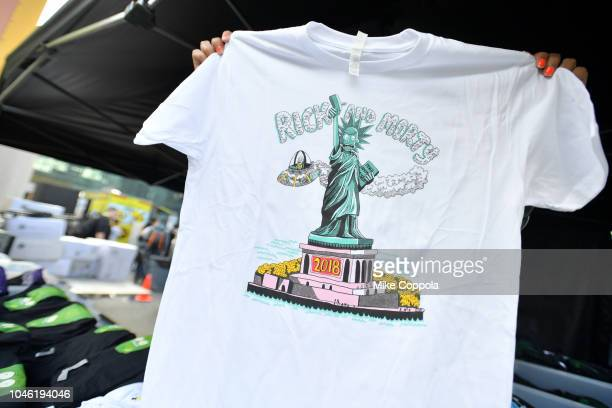 A view of the Rickmobile during New York Comic Con 2018 at Jacob Javits Center on October 5 2018 in New York City 423701