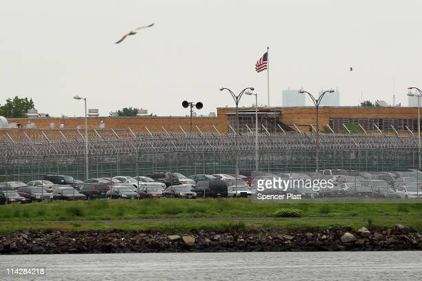 A view of the Rikers Island prison complex where Dominique StraussKahn head of the International Monetary Fund is being held while awaiting another...