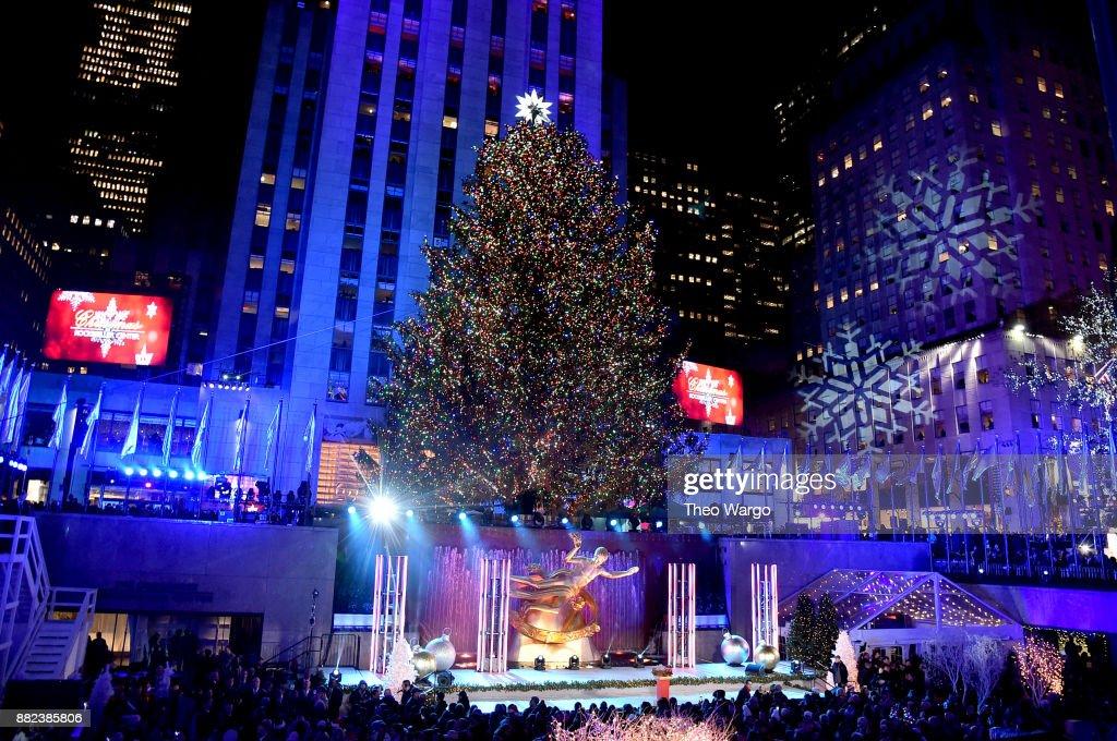 85th rockefeller center christmas tree lighting rockin around the