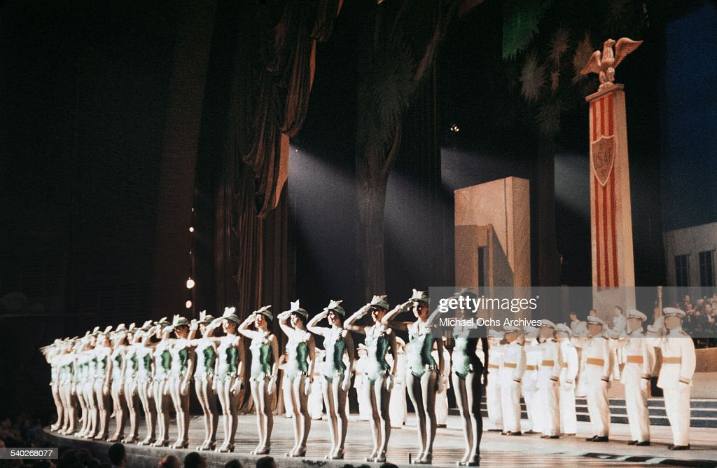The Rockettes at Radio City Music Hall : News Photo