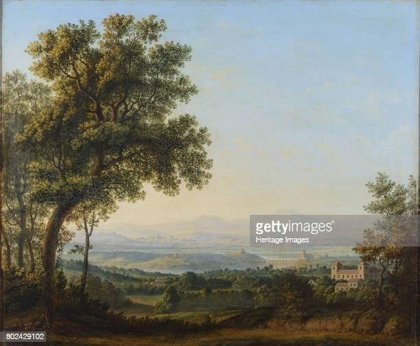 View of the Roman Campagna First half of the 19th cent Found in the collection of State A Radishchev Art Museum Saratov