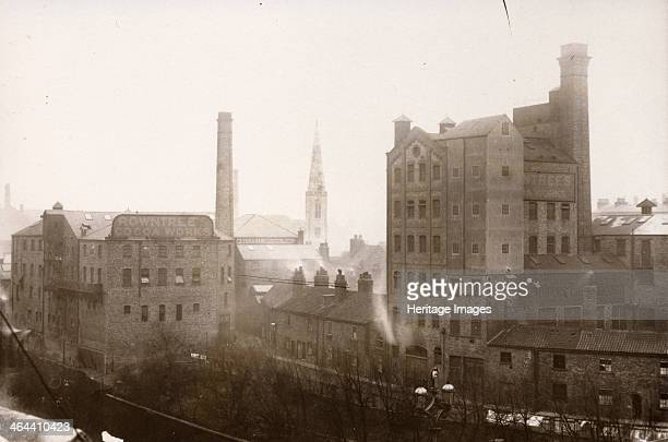 View of the Rowntree Cocoa Works Tanners Moat York Yorkshire 1891
