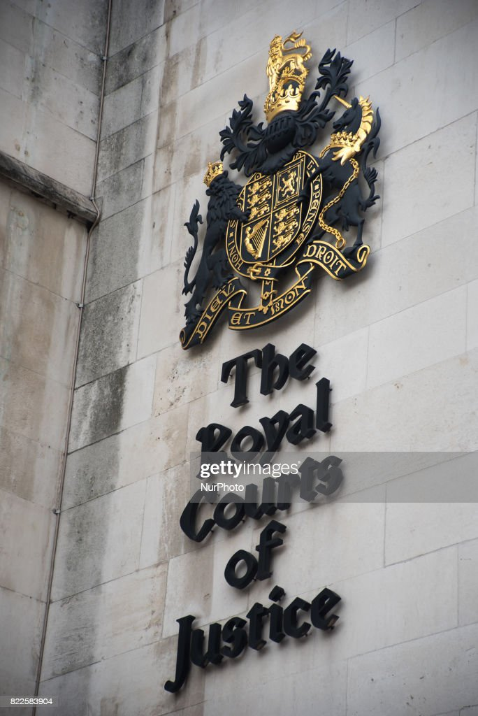 Daily Life At The Royal Courts Of Justice : News Photo