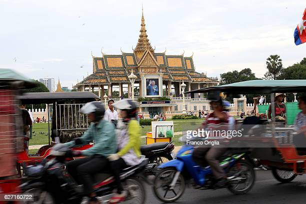 A view of the Royal Palace on December 2 2016 in Phnom Penh Cambodia Cambodia was used as a base by the North Vietnamese Army and the Viet Cong...