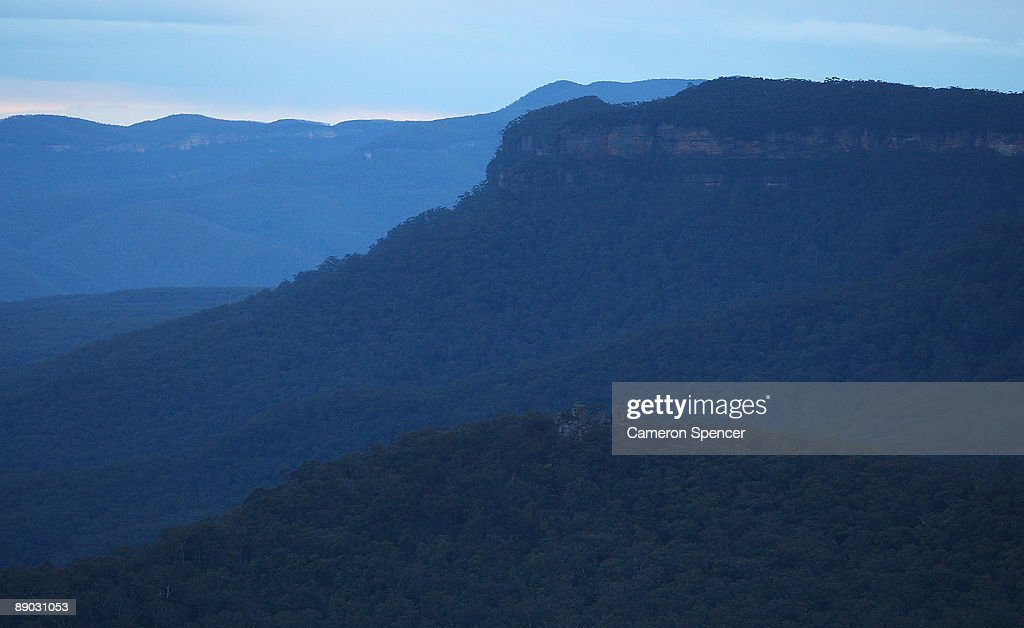 A view of the 'Ruined Castle' and 'Narrow Neck' in the Blue Mountains from Echo Point on July 15, 2009 in Katoomba, Australia. Missing backpacker Jamie Neale was found earlier today after surviving 12 days lost in the Blue Mountains near Katoomba suffering from only dehydration and exposure.