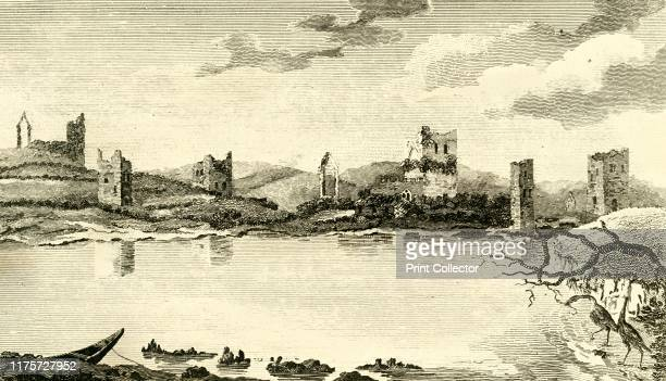 View of the Ruins of Clomines, Co. Wexford', 1791. Clonmines, on the south-west coast of County Wexford, Ireland, the site of 'the finest example in...