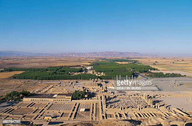 View of the ruins of Persepolis , Iran. Achaemenid civilisation, 6th-5th century BC.