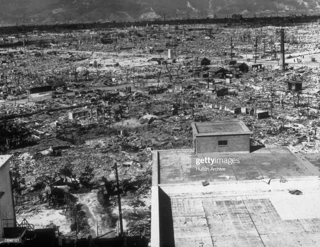 Hiroshima Ruins : News Photo