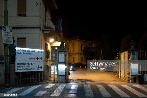 A view of the sacco hospital With an increasing toll of confirmed cases of people infected by Coronavirus and two deaths the Italian government is...