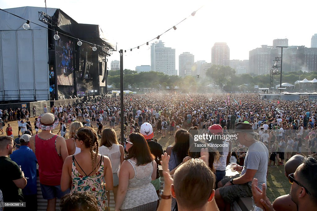 Samsung at Lollapalooza 2016 - Day 4 : News Photo