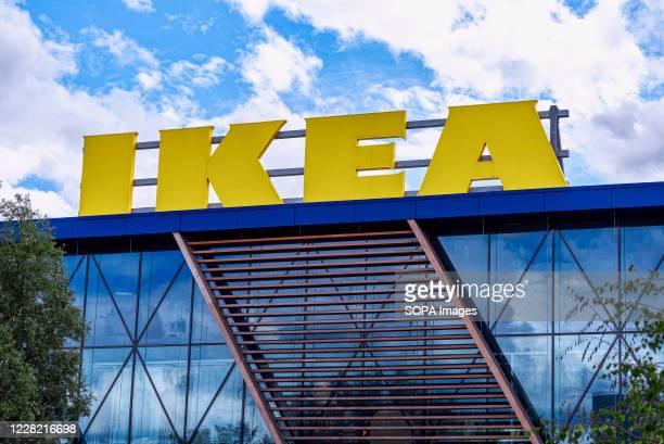 View of the Scandinavian chain IKEAs store in Greenwich.