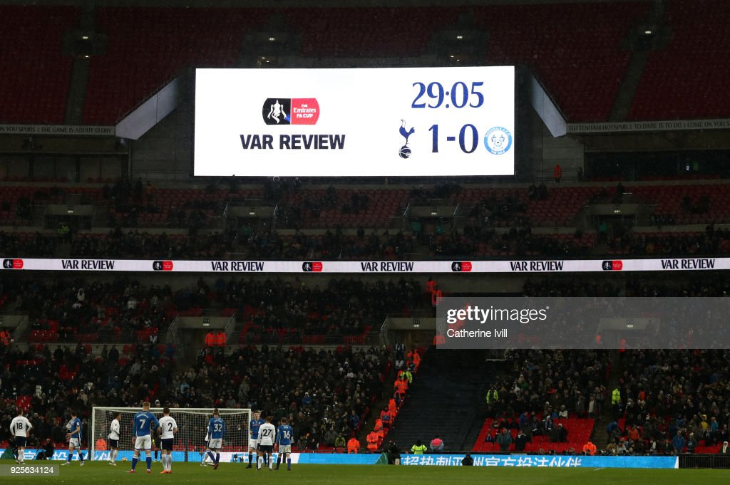 Tottenham Hotspur v Rochdale - The Emirates FA Cup Fifth Round Replay : News Photo