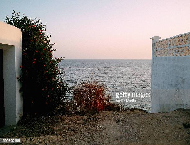 view of the sea, hope and inspiration - hope imagens e fotografias de stock