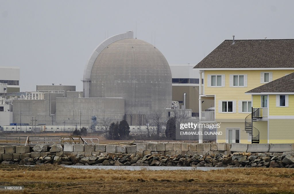 A view of the Seabrook Nuclear Power Pla : News Photo