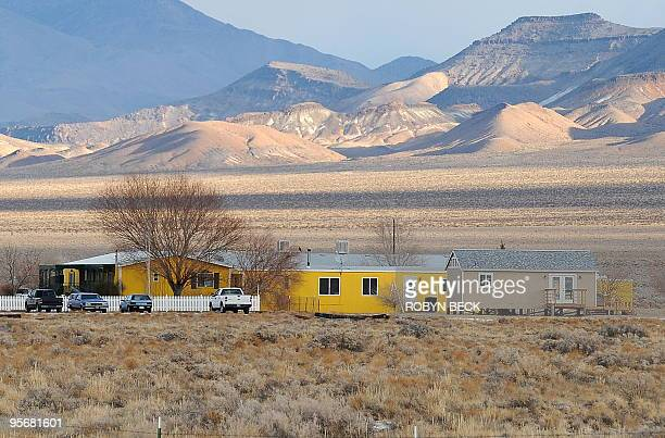 A view of the Shady Lady Ranch brothel in Nye County Nevada about 150 miles north of Las Vegas on January 10 2010 Brothel owneroperator Bobbi Davis...