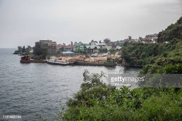 A view of the shores of Lake Kivu in Goma DR Congo is currently experiencing the second worst Ebola outbreak in recorded history More than 1400...