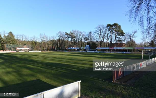 A view of the Siegfreied Koerner stadium home of lower league SV Eintracht LüneburgEveryday life in Germany has become fundamentally altered as...